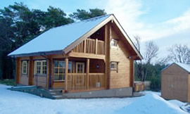 Self Catering Log Cabin Scotland Moray