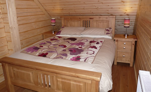 roe deer log cabin luxury accommodation speyside scotland
